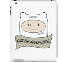 Fin The Adventurer iPad Case/Skin