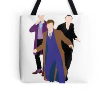 The New Who Doctors Tote Bag