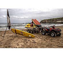 RNLI Lifeguards WaterSki Doo Photographic Print