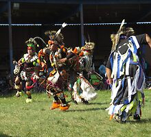 First Nations Warriors at Pow Wow by Alex Call