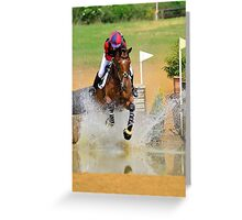 Pony Club Area Finals Greeting Card