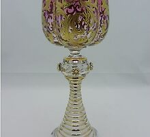 Moser Wine Glass by Baron Guibal J P Dip