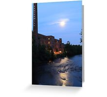 Ashton Mill, Blackstone River Greeting Card