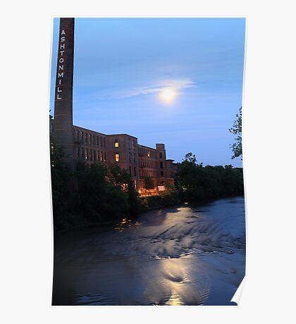Ashton Mill, Blackstone River Poster
