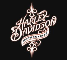 HARLEY DAVIDSON PINSTRIPE LOOK- ORANGE by Shannondean1981