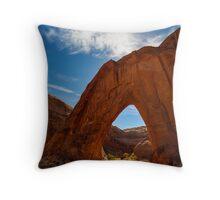 Broken Bow Arch Throw Pillow