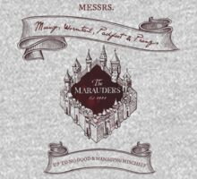 Marauders - Up to No Good & Managing Mischief Since 1971 Kids Tee