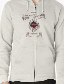 Marauders - Up to No Good & Managing Mischief Since 1971 Zipped Hoodie