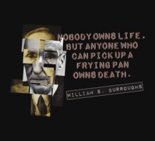 William S Burroughs 'Cut Up' Inspired Tee by OutlawOutfitter
