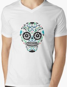 Sugar Skull SF multi om white T-Shirt