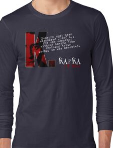 The Trial inspired Franz Kafka Tee T-Shirt