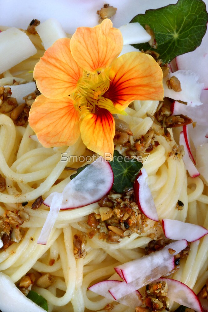 Pasta and Sunflower Seed Pesto by SmoothBreeze7