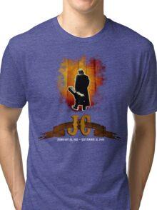 The Man In Black - Johnny Cash Tri-blend T-Shirt