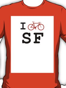 "I ""ride"" San Francisco T-Shirt"