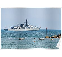 HMS Sutherland Poster