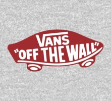 Vans Off The Wall Red Badge Logo by vincepro76