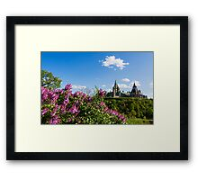 Ottawa Parliament Framed Print