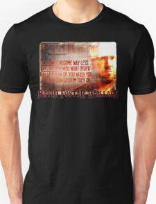 David Foster Wallace - Infinite Jest Quote Shirt Unisex T-Shirt