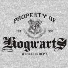 Property of Hogwarts Athletic Dept. by M Dean Jones