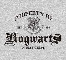 Property of Hogwarts Athletic Dept. by M Dean Jones