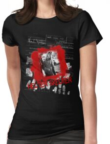 Charlie Manson Helter Skelter Tee Womens Fitted T-Shirt