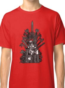 Kingdom Hearts: Game of Hearts blk+wht Classic T-Shirt