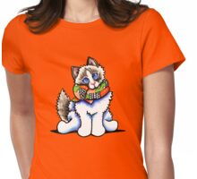 All Dolled Up   Ragdoll Womens Fitted T-Shirt