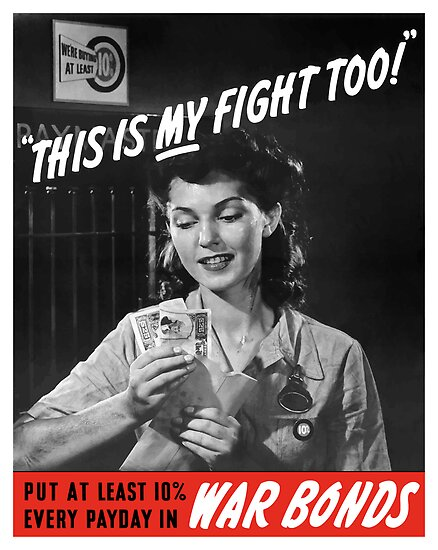 This Is My Fight Too -- World War Two by warishellstore