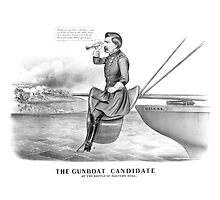 George McClellan -- The Gunboat Candidate At The Battle Of Malvern Hill by warishellstore