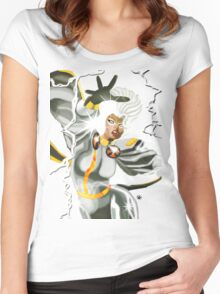 A Storm is Coming  Women's Fitted Scoop T-Shirt