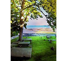 Kirkyard View Photographic Print