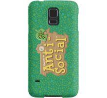 Animal Crossing Anti-Social Samsung Galaxy Case/Skin