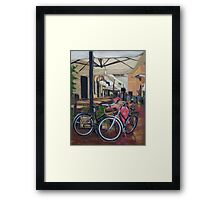 Italian Bicycles Framed Print