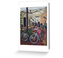 Italian Bicycles Greeting Card