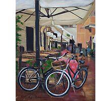 Italian Bicycles Photographic Print