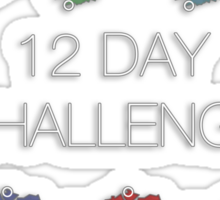 12 Day Challenge Sticker