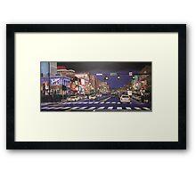 Music City Lights Framed Print