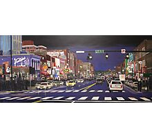 Music City Lights Photographic Print