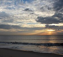 Cloudy Rays by JLOPhotography