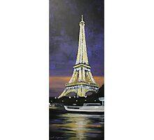 Paris Cruise Photographic Print