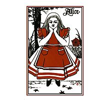 Alice In Wonderland; A Play. Photographic Print