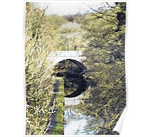 Bridge Over the Canal Poster