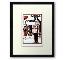 Alice In Wonderland; A Play. The Knave Of Hearts Framed Print