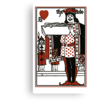 Alice In Wonderland; A Play. The Knave Of Hearts Canvas Print