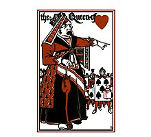 Alice In Wonderland; A Play. Queen of Hearts Photographic Print