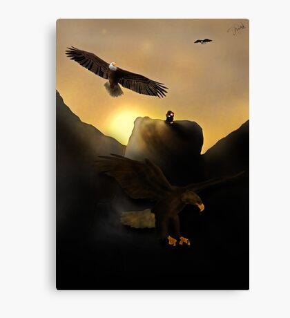 The Hug   Thorin Oakenshield and Bilbo Baggins Canvas Print