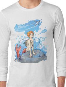 Martin Crieff, Majestic Merman Long Sleeve T-Shirt