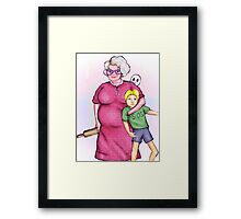 Polish mother Framed Print