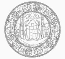 Resurrection Mandala - Color-Your-Own Clothing by TheMandalaLady