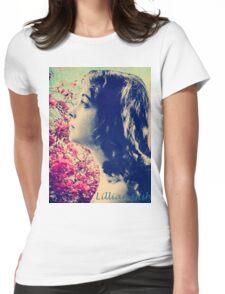 Lillian of Broken Blossoms Womens Fitted T-Shirt